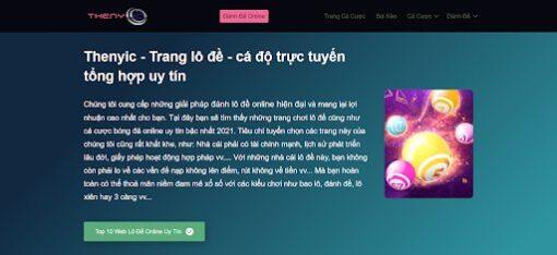 Đánh giá trang lô đề, cá độ, thenyic.org uy tín nhất 2021